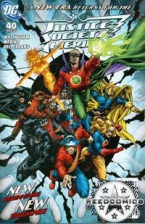 Justice Society of America #40