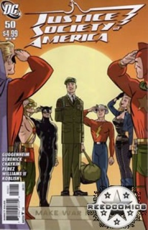 Justice Society of America #50