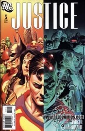 Justice #5 (3rd Print)