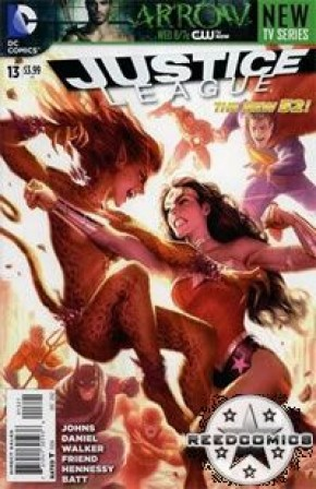 Justice League Volume 2 #13 (Stewart Variant Cover)