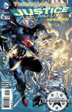 Justice League Volume 2 #15 (1 in 25 Incentive Cover)