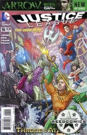 Justice League Volume 2 #16 (Langdon Foss Variant Cover)