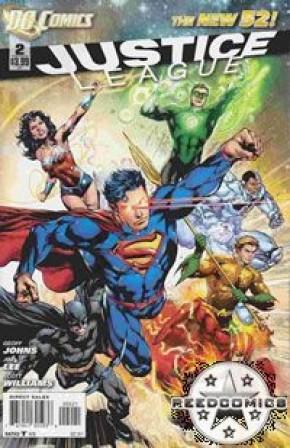 Justice League Volume 2 #2 (1:25 Incentive)