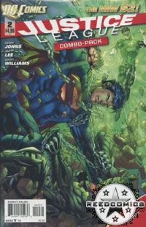 Justice League Volume 2 #2 COMBO-PACK EDITION