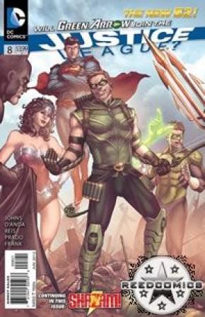 Justice League (2011) #8 (1:25 Incentive)