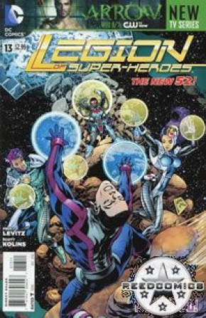 Legion of Super Heroes Volume 7 #13