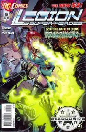 Legion of Super Heroes Volume 7 #6