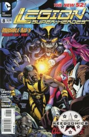 Legion of Super Heroes Volume 7 #8