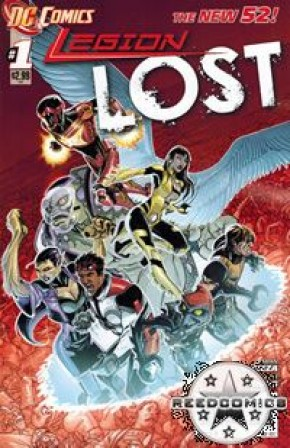 Legion Lost (2011) #1 (2nd Print)