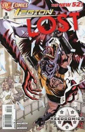 Legion Lost (2011) #3
