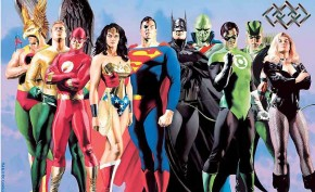 JLA: Secret Origins Giclee Print Signed by Alex Ross