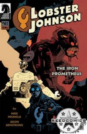 Lobster Johnson Iron Prometheus #4
