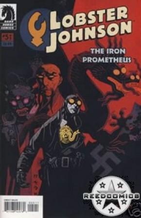 Lobster Johnson Iron Prometheus #5