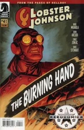 Lobster Johnson The Burning Hand #4