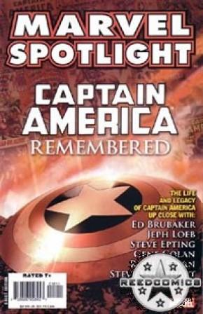 Marvel Spotlight Captain America Remembered