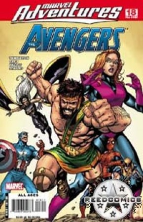 Marvel Adventures Avengers #18