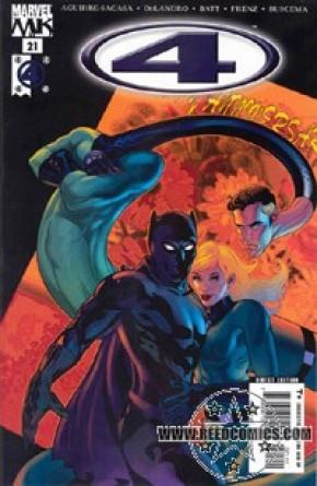 Marvel Knights 4 #21