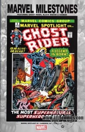Milestones Ghost Rider, Black Widow, Iceman