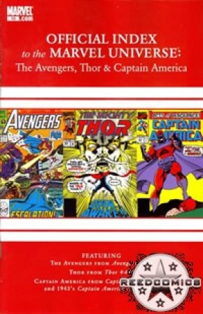 Avengers Thor & Captain America Official Index #10