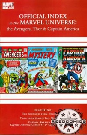 Avengers Thor & Captain America Official Index #1
