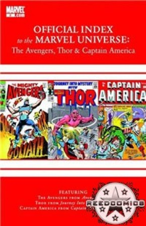 Avengers Thor & Captain America Official Index #2