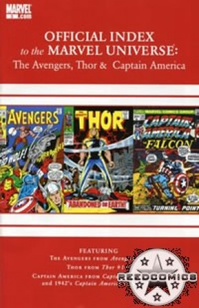 Avengers Thor & Captain America Official Index #3