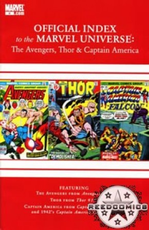 Avengers Thor & Captain America Official Index #4