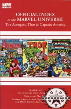 Avengers Thor & Captain America Official Index #5