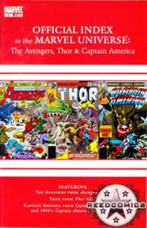 Avengers Thor & Captain America Official Index #6