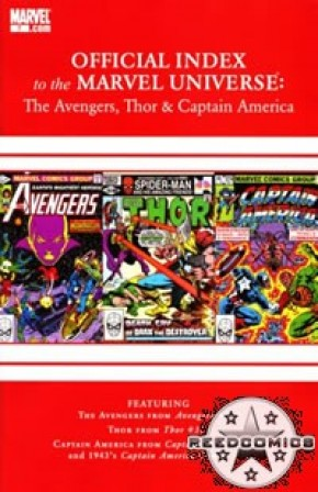 Avengers Thor & Captain America Official Index #7