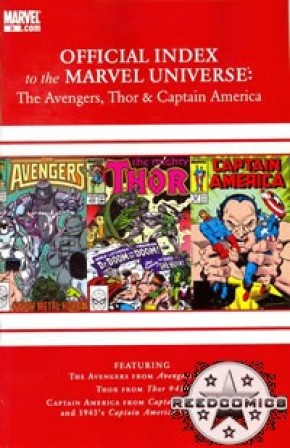Avengers Thor & Captain America Official Index #9