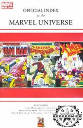 Official Index to Marvel Universe #5
