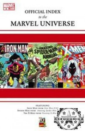 Official Index to Marvel Universe #6
