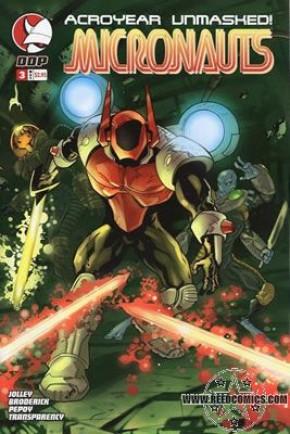 Micronauts #3