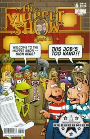 Muppet Show Ongoing Series #5 (Cover A)