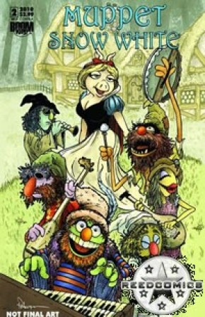 Muppet Show Snow White #2 (Cover A)