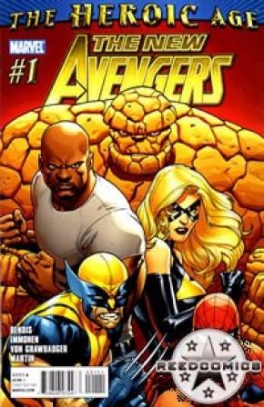 New Avengers Volume 2 #1