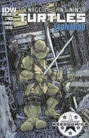 Teenage Mutant Ninja Turtles Micro Series #4 Leonardo