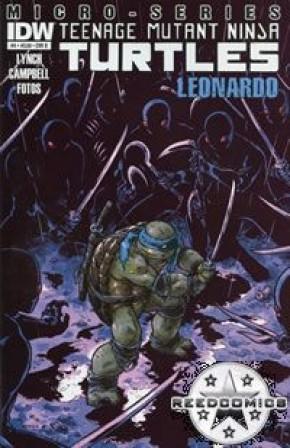 Teenage Mutant Ninja Turtles Micro Series #4 Leonardo (1 in 5 Incentive)