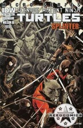 Teenage Mutant Ninja Turtles Micro Series #5 Splinter (1 in 5 Incentive)