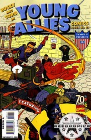 Young Allies Comics #1 70th Anniversary Special