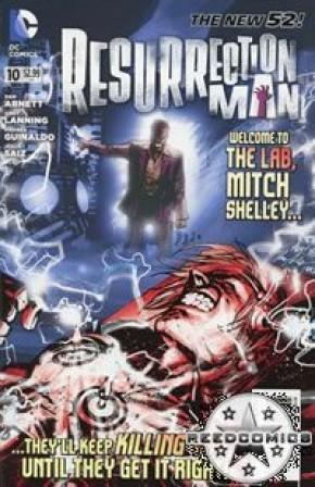 Resurrection Man Volume 2 #10