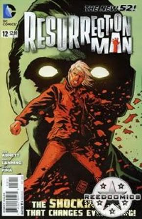 Resurrection Man Volume 2 #12