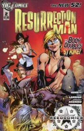 Resurrection Man Volume 2 #2