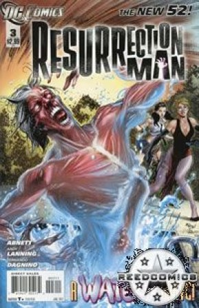 Resurrection Man Volume 2 #3