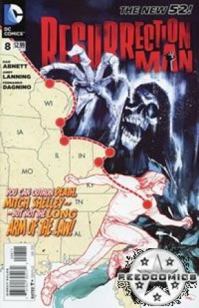 Resurrection Man Volume 2 #8