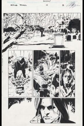 Rising Stars #14 Page 7 Comic Art