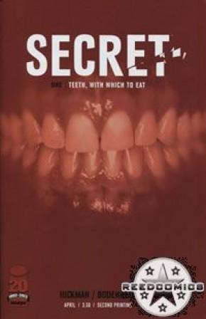 Secret #1 (2nd Print)