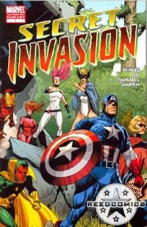 Secret Invasion #1 (2nd Print)
