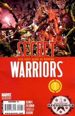 Secret Warriors #1 (2nd Print)
